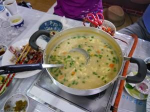 沖縄の雑炊1